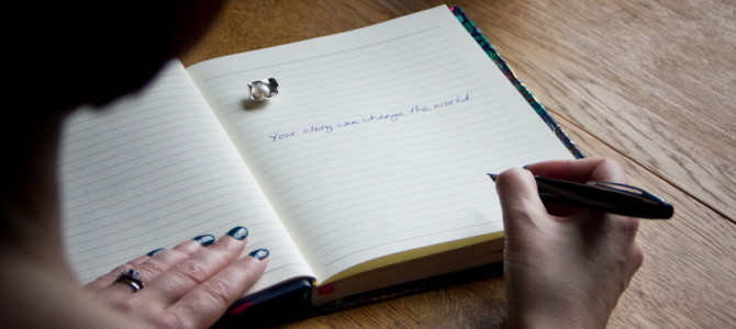 Can you really heal yourself by writing a story about your life?