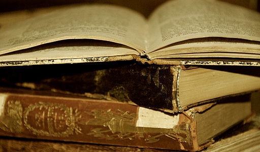 Discovering a new story in the pages of an old book