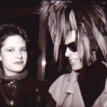 Beverley and Tony James of Sigue Sigue Sputnik in 1986